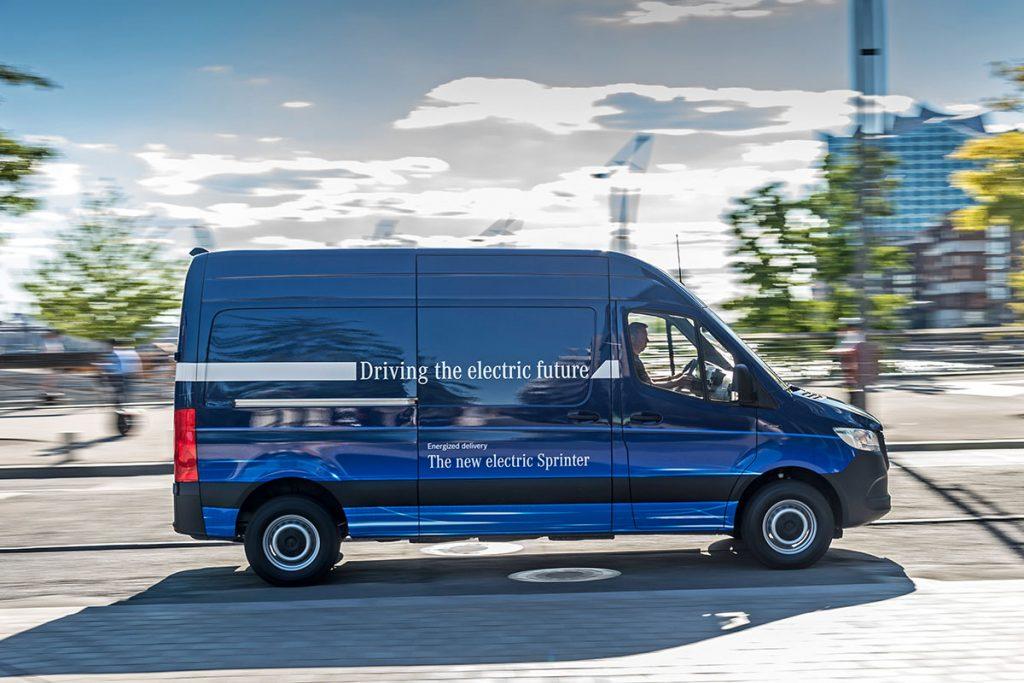 Lokal emissionsfreie Mobilität: Mercedes-Benz eSprinter fit für den urbanen Einsatz // Local zero-emissions mobility: Mercedes Benz eSprinter fit for urban life