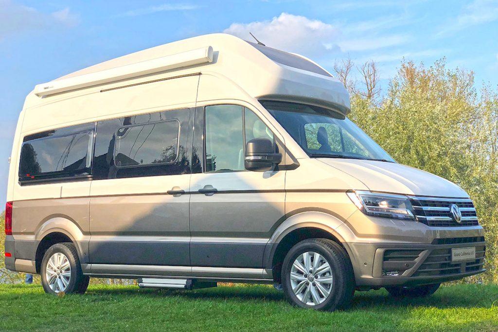 66a3019290 Platz für zwei Erwachsene und zwei Kinder auf sechs Metern Länge. VW Grand  California 600