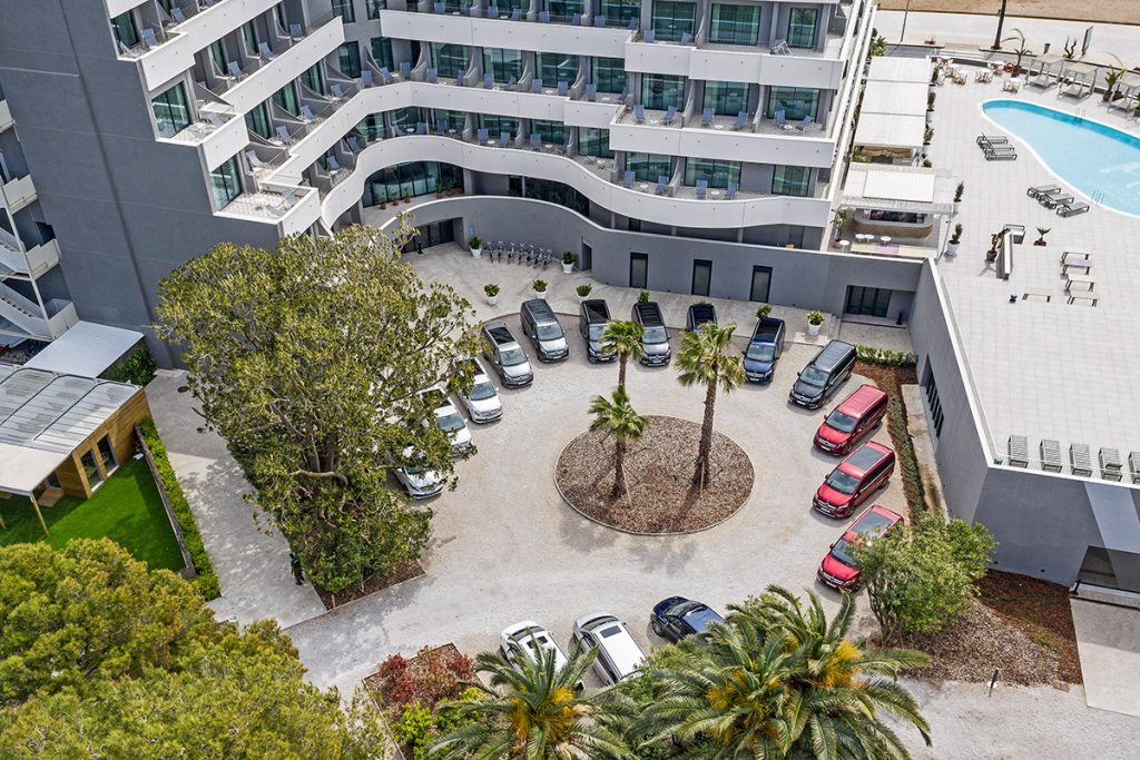 Pressefahrveranstaltung neue Mercedes-Benz V-Klasse und Marco Polo, Sitges/Spanien 2019 // Press test drive new Mercedes-Benz V-Class and Marco Polo, Sitges/Spain 2019