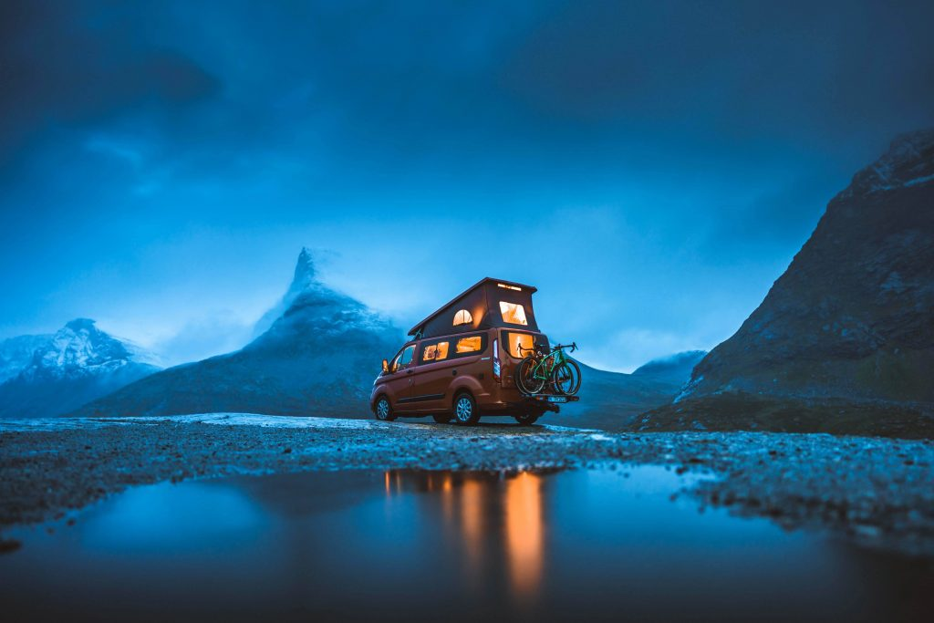 """Youtube-Video """"Great Escapes"""": Ford Nugget in Norwegen."""